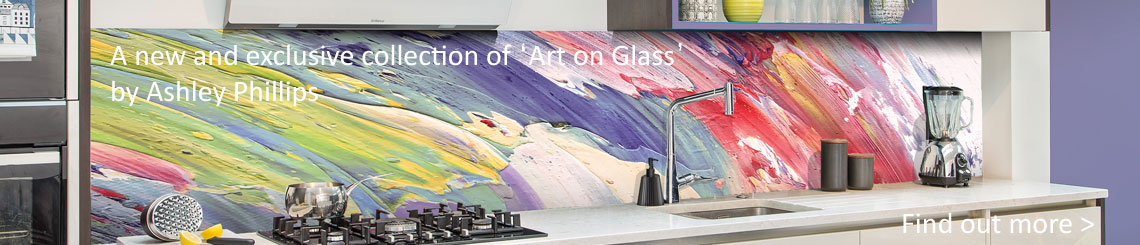 art printed on glass